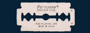 Picture of 74-0002 Stainless Steel Surgical Prep Blades