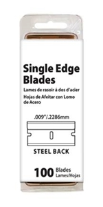 Picture of 84-0702 Value Brand Single Edge Blade Steel Backing